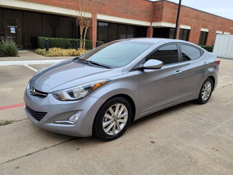 2015 Hyundai Elantra for sale at DFW Autohaus in Dallas TX
