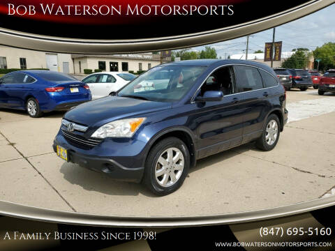 2007 Honda CR-V for sale at Bob Waterson Motorsports in South Elgin IL