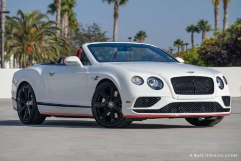2017 Bentley Continental for sale at Euro Auto Sales in Santa Clara CA