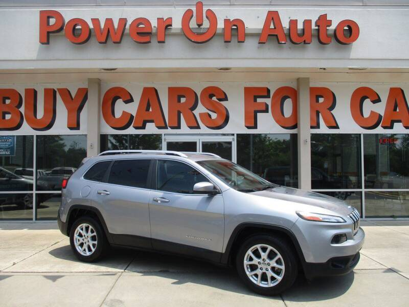 2014 Jeep Cherokee for sale at Power On Auto LLC in Monroe NC