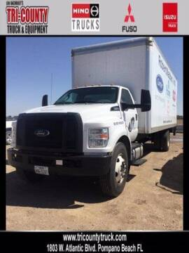 2016 Ford F-650 Super Duty for sale at TRUCKS BY BROOKS in Pompano Beach FL