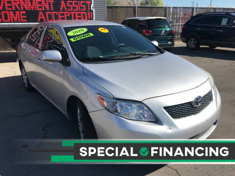 2010 Toyota Corolla for sale at Rock Star Auto Sales in Las Vegas NV