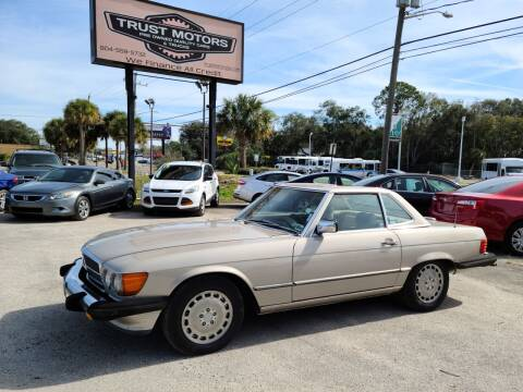 1989 Mercedes-Benz 560-Class for sale at Trust Motors in Jacksonville FL