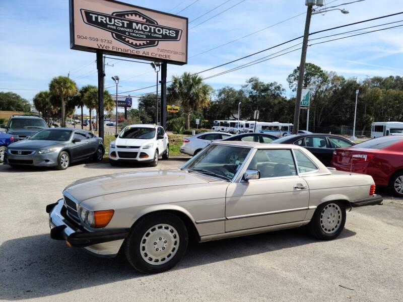 1989 Mercedes-Benz 560-Class for sale at Trust Motors in Jacksonville FL