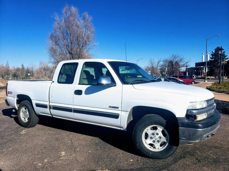 2001 Chevrolet Silverado 1500 for sale at J & M PRECISION AUTOMOTIVE, INC in Fort Collins CO