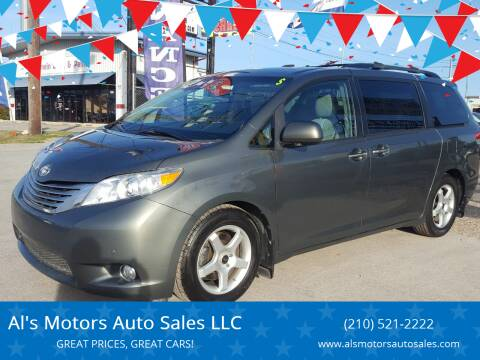 2011 Toyota Sienna for sale at Al's Motors Auto Sales LLC in San Antonio TX