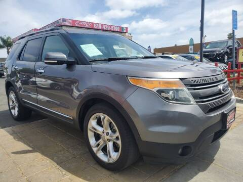 2013 Ford Explorer for sale at CARCO SALES & FINANCE in Chula Vista CA
