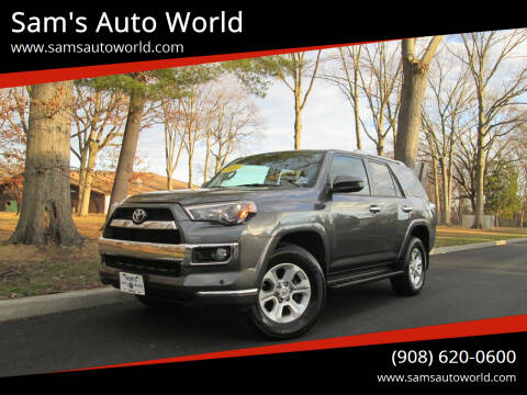 2014 Toyota 4Runner for sale at Sam's Auto World in Roselle NJ
