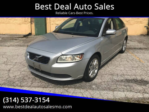 2008 Volvo S40 for sale at Best Deal Auto Sales in Saint Charles MO