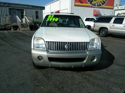 2002 Mercury Mountaineer for sale at AUTOPLEX 528 LLC in Huntsville AL