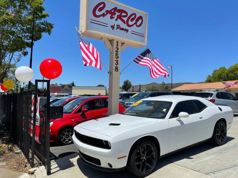 2019 Dodge Challenger for sale at CARCO SALES & FINANCE - CARCO OF POWAY in Poway CA