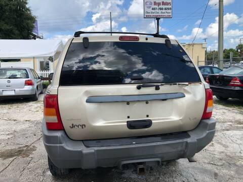 2000 Jeep Grand Cherokee for sale at Mego Motors in Orlando FL