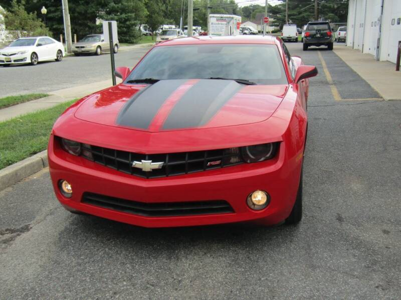 2010 Chevrolet Camaro for sale at Homer Ave Automotive in Pleasantville NJ