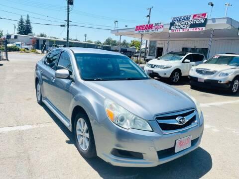 2011 Subaru Legacy for sale at Dream Motors in Sacramento CA