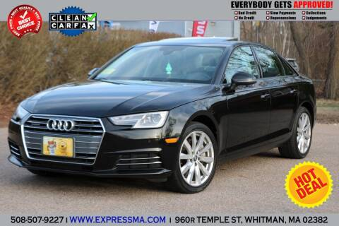 2017 Audi A4 for sale at Auto Sales Express in Whitman MA