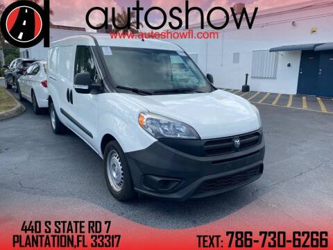 2017 RAM ProMaster City Cargo for sale at AUTOSHOW SALES & SERVICE in Plantation FL
