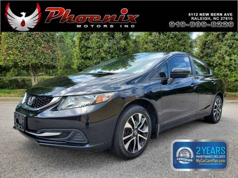 2014 Honda Civic for sale at Phoenix Motors Inc in Raleigh NC