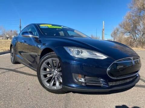 2013 Tesla Model S for sale at UNITED Automotive in Denver CO