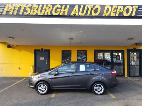 2017 Ford Fiesta for sale at Pittsburgh Auto Depot in Pittsburgh PA