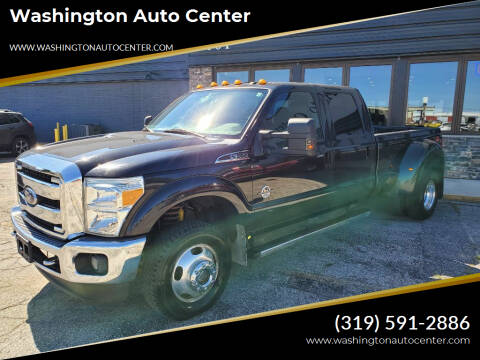 2011 Ford F-350 Super Duty for sale at Washington Auto Center in Washington IA