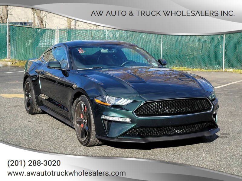 2019 Ford Mustang for sale at AW Auto & Truck Wholesalers  Inc. in Hasbrouck Heights NJ