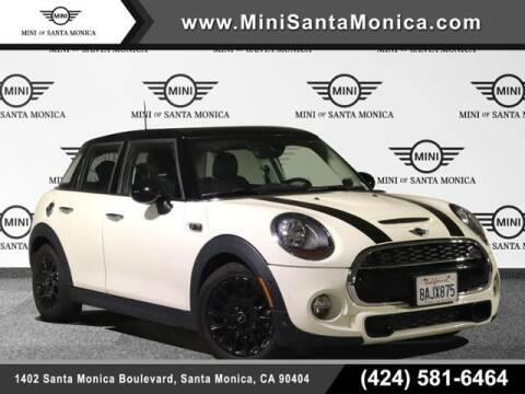 2018 MINI Hardtop 4 Door for sale at MINI OF SANTA MONICA in Santa Monica CA