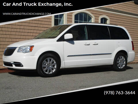 2012 Chrysler Town and Country for sale at Car and Truck Exchange, Inc. in Rowley MA