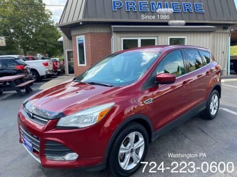 2013 Ford Escape for sale at Premiere Auto Sales in Washington PA