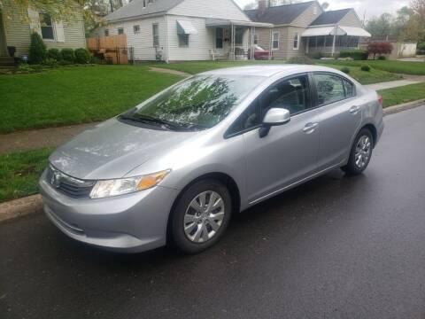 2012 Honda Civic for sale at REM Motors in Columbus OH
