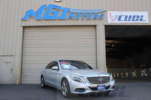 2014 Mercedes-Benz S-Class for sale at MGI Motors in Sacramento CA