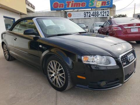 2009 Audi A4 for sale at Best Royal Car Sales in Dallas TX