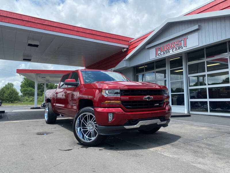 2018 Chevrolet Silverado 1500 for sale at Furrst Class Cars LLC in Charlotte NC