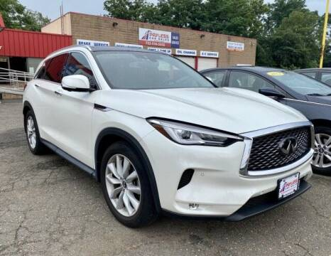 2019 Infiniti QX50 for sale at PAYLESS CAR SALES of South Amboy in South Amboy NJ