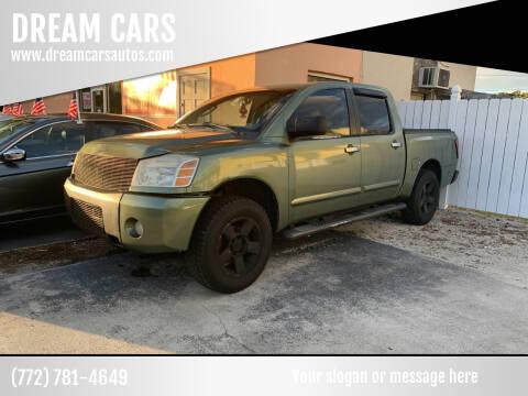 2004 Nissan Titan for sale at DREAM CARS in Stuart FL