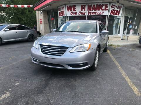 2014 Chrysler 200 for sale at Right Place Auto Sales in Indianapolis IN