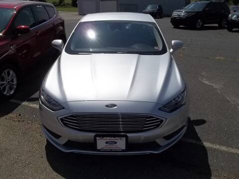 2018 Ford Fusion for sale at Gilliam Motors Inc in Dillwyn VA