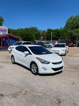 2013 Hyundai Elantra for sale at Twin Motors in Austin TX