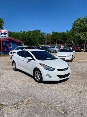 2013 Hyundai Elantra for sale at Twin Motors in Austin TX
