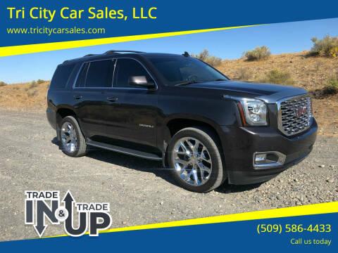 2018 GMC Yukon for sale at Tri City Car Sales, LLC in Kennewick WA