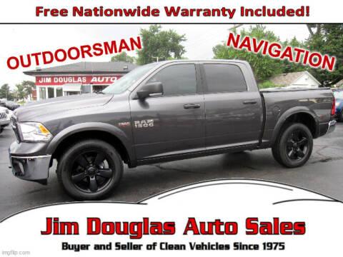 2015 RAM Ram Pickup 1500 for sale at Jim Douglas Auto Sales in Pontiac MI