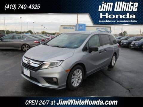2020 Honda Odyssey for sale at The Credit Miracle Network Team at Jim White Honda in Maumee OH