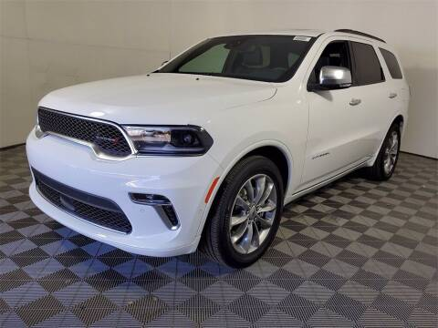 2021 Dodge Durango for sale at PHIL SMITH AUTOMOTIVE GROUP - Joey Accardi Chrysler Dodge Jeep Ram in Pompano Beach FL