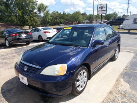2003 Honda Civic for sale at High Country Motors in Mountain Home AR