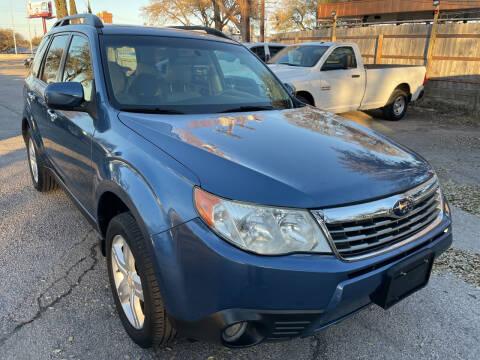 2010 Subaru Forester for sale at PRESTIGE AUTOPLEX LLC in Austin TX