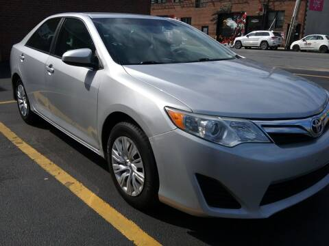 2013 Toyota Camry for sale at Drive Deleon in Yonkers NY