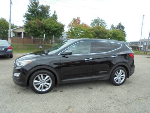 2013 Hyundai Santa Fe Sport for sale at B & G AUTO SALES in Uniontown PA
