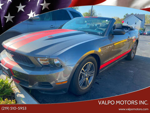 2011 Ford Mustang for sale at Valpo Motors Inc. in Valparaiso IN