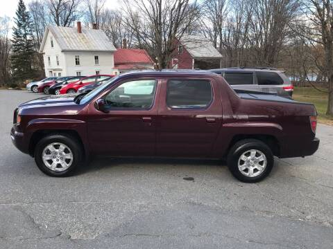 2008 Honda Ridgeline for sale at MICHAEL MOTORS in Farmington ME