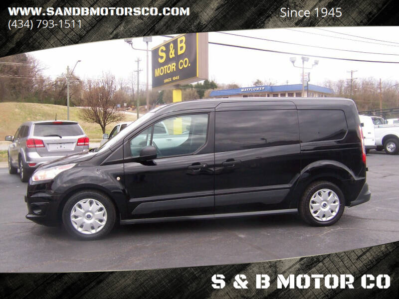 2016 Ford Transit Connect Cargo for sale at S & B MOTOR CO in Danville VA