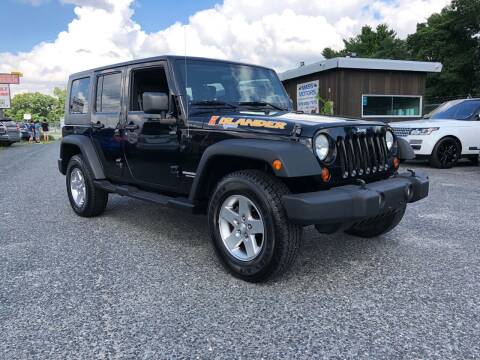 2010 Jeep Wrangler Unlimited for sale at Mass Motors LLC in Worcester MA